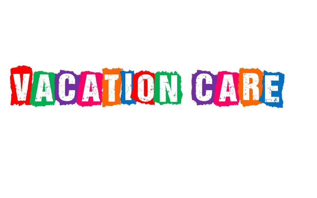 Vacation Care – January 2019
