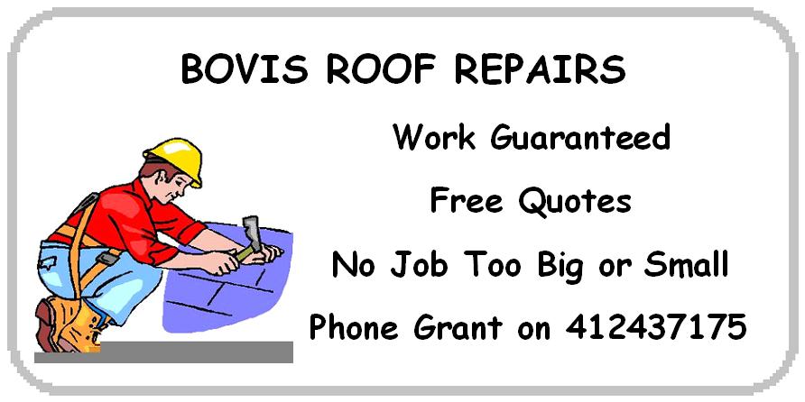 Bovis Roof Repairs