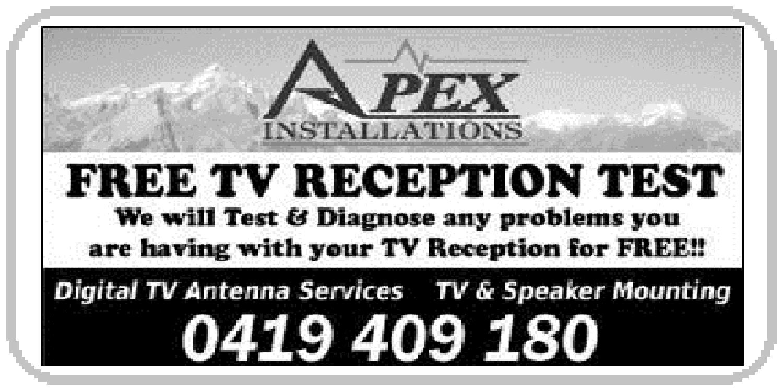 APEX INSTALLATIONS