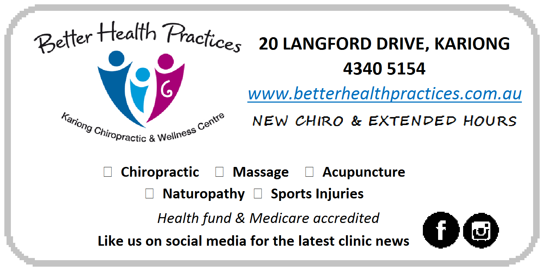 Better Health Practices