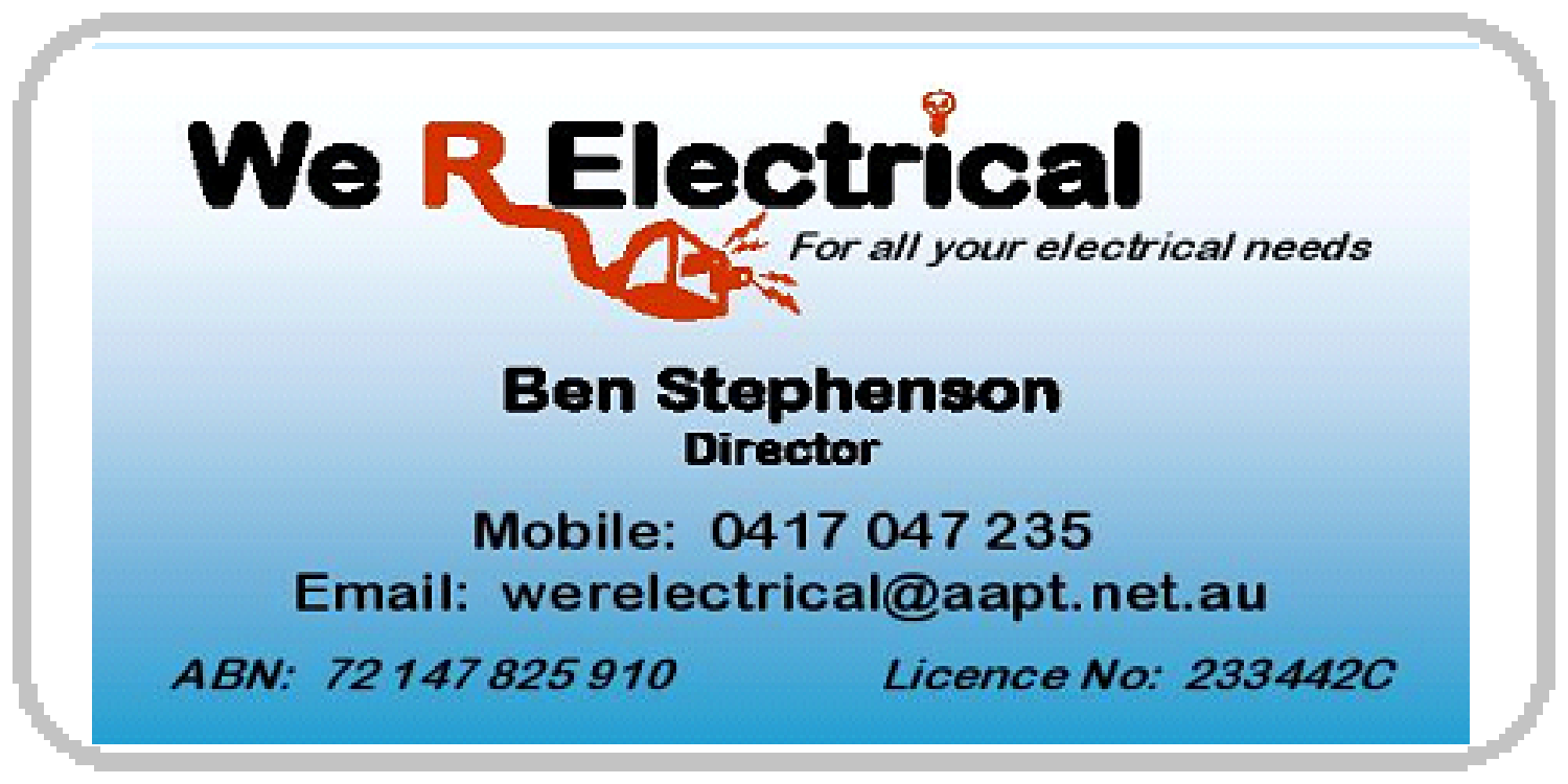 We're Electrical