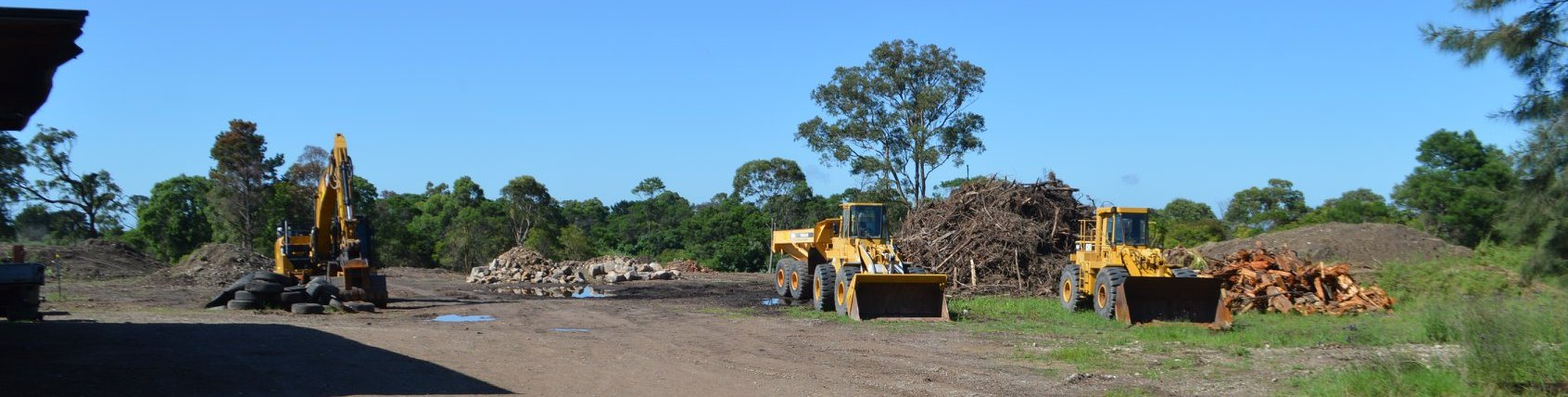 New site for tip (recycling) at Somersby, huge traffic congestion and noise 24hrs a day.