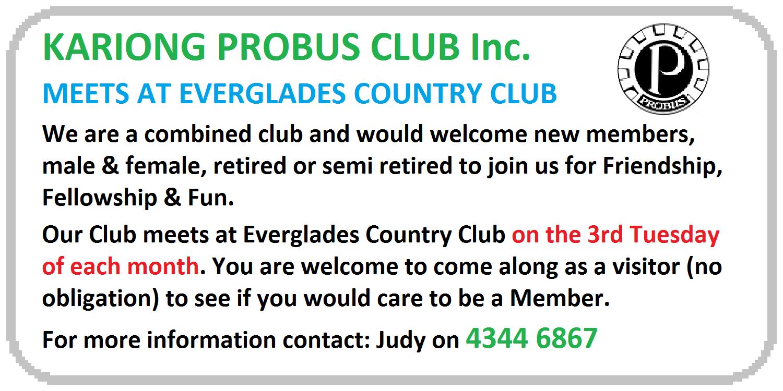 Kariong Probus Club