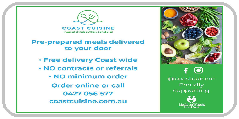 Coast cuisine