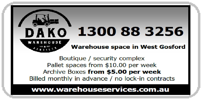 DAKO Warehouse Services