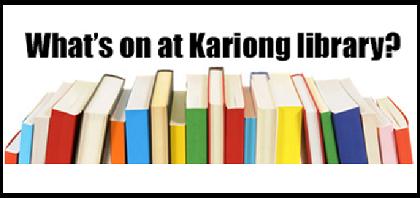 Kariong Library Nov 2019