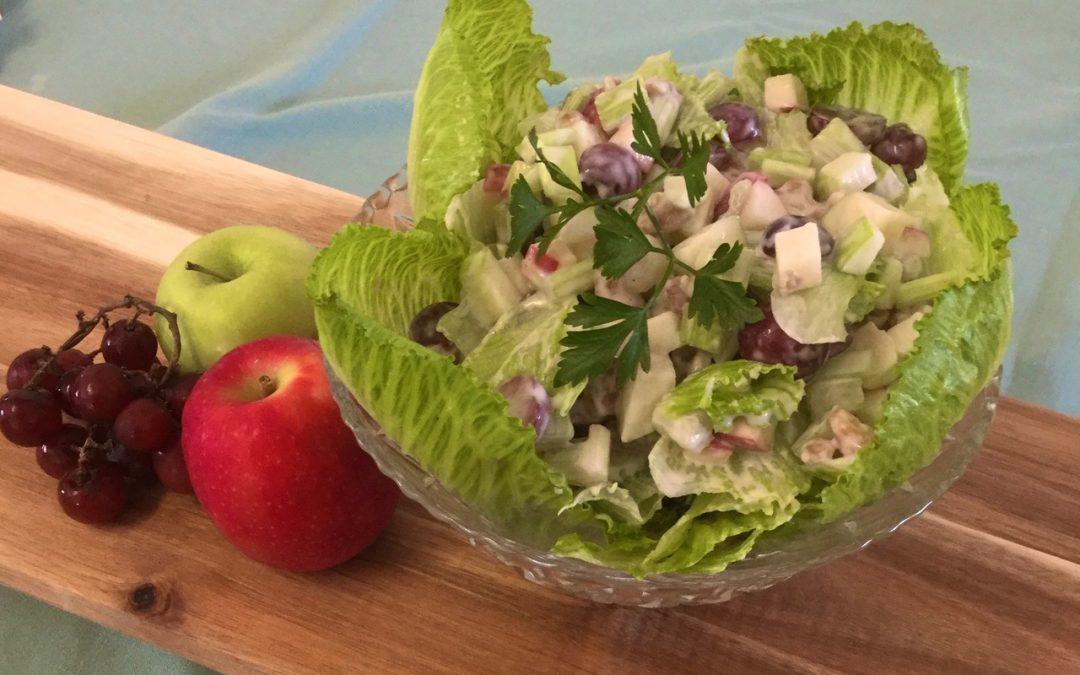 Classic Waldorf Salad Feb 2020 – Recipe of the month