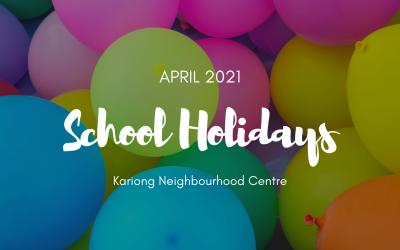 April 2021 Vacation Care & School Holiday Program