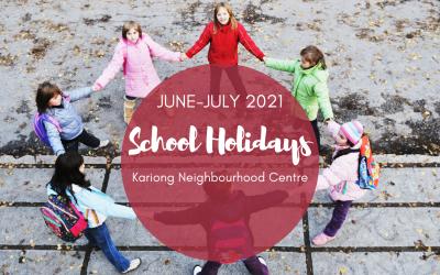 June-July 2021 Vacation Care & School Holiday Program